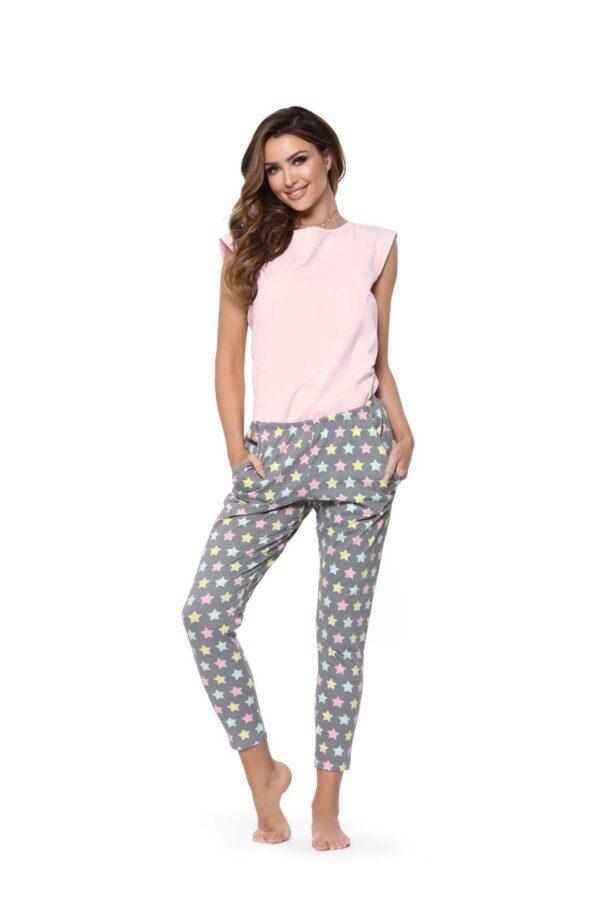Pižama Rožnata zvezdica